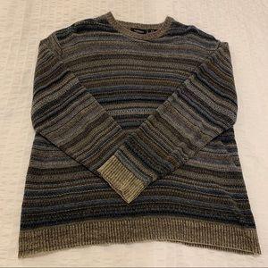 Vintage Knit Striped Sweater